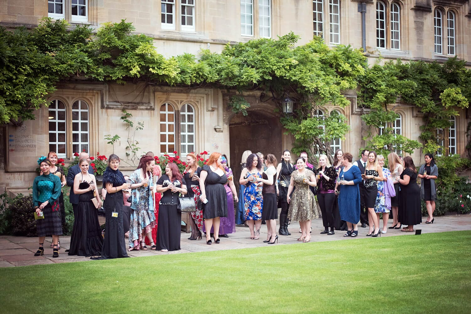 Champagne Goes to Oxford - Part 1