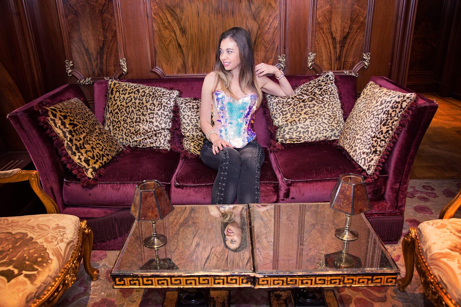 My Birthday at the Plaza Hotel's Club Rose